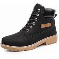 Mens Outdoor Winter Army Style Waterproof Boots