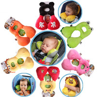1-4years Baby Neck Pillow U-shaped travel pillow car seat cushion baby toys cushion pillow