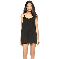 9Seed St. Barts Cover Up Dress Black