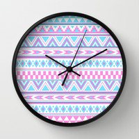 Tribal Creation Wall Clock by Tjc555