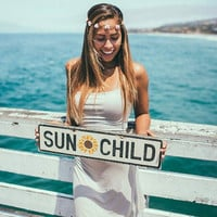 Sun Child with Sunflower