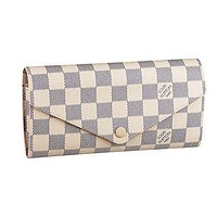 Louis Vuitton Damier Canvas Josephine Wallet N63545