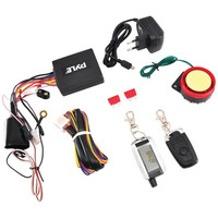 PYLE PLMCWD75 Watch Dog Motorcycle Vehicle Alarm Security & Remote Auto-Start System with Automatic Re-Arm, 2 ECU Control Transmitters, Anti-Hijack Engine Immobilization, High-Power Piezo Speaker & Mountable LED Indicator