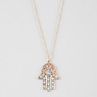 FULL TILT Hamsa Necklace | Necklaces