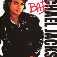 Michael Jackson Bad Album Cover Poster 24x36