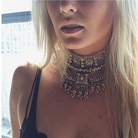 Vintage Necklace Women Jewelry Party Collar Accessories