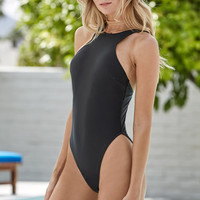 MinkPink Overflow High Neck One Piece Swimsuit at PacSun.com