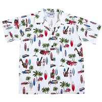 beach time white boy hawaiian shirt