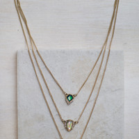 Moss Layered Necklace