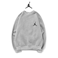Jordan Fashion Print Top Sweater Pullover
