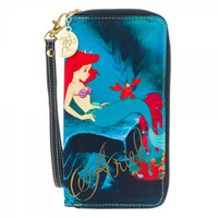 Disney Ariel Large Zip Around Wallet