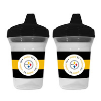 Pittsburgh Steelers Sippy Cup 2 Pack