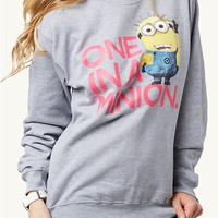 One In A Minion Sweatshirt | Get Graphic | rue21