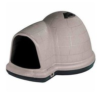 Petmate Igloo Indigo Dog House Sz: Medium (Dogs 25-50 lbs)