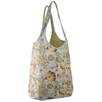 Raymond Waites – Oversized Quilted Laundry Bag With Handles – Laundry Tote – Floral – Damask –