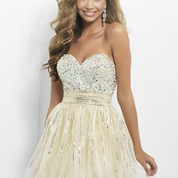 Blush Prom 9665 Sparkly Party Dress