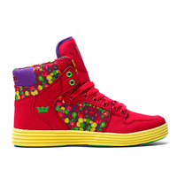 """VAIDER LITE CANDY PAINT """"VICE PACK"""" FIRE RED / CANDY - YELLOW   Official SUPRA Footwear Site"""