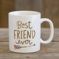 Best Friend Ever Mug by Natural Life