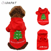 New Christmas Tree Dog Costume Puppy Clothes Pet  Winter Dressing Autumn Coat Warm Jacket Hoodies Teddy Jersey Clothing 15