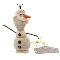 Jim Shore MINI OLAF Polyresin Frozen Snowman Disney 4050766 New
