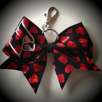 Louisville Red Hearts Luggage Tag