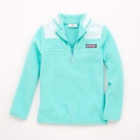 Girls Ribbon Neck Shep Shirt