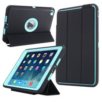 Tablets Case protector For apple ipad Mini 4 Retina Kids Safe Armor Shockproof Heavy Duty Silicone Hard Case Cover