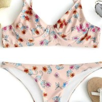 Wildflower Underwire Bikini Set