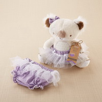 Opentip.com: Baby Aspen BA15125NA Tutu Cute Koala Plush Plus Bloomer for Baby