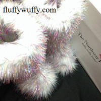 White Diamond Sparkle – Classic Tall Fluffy Wuffy Boots