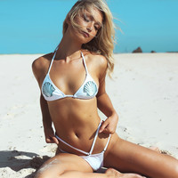 Sweet Shells Design Bikini Set
