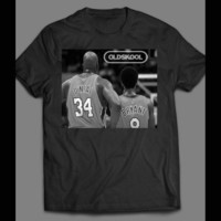 OLDSKOOL BASKETBALL LEGENDS, SHAQ & KOBE BRYANT T-SHIRT