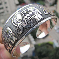 Tibetan Elephant Bangle - FREE SHIPPING!
