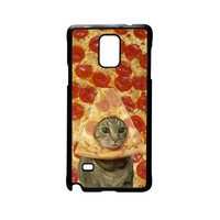 Cat iCase Pizza Funny TV For Samsung Galaxy Note 2/Note 3/Note 4/Note 5/Note Edge Phone case ZG