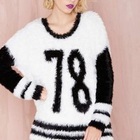 Faux Fur the Team Sweater