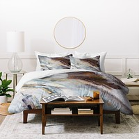 Ginette Fine Art Rust Duvet Cover