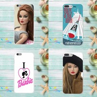 For Barbie Bitch Doll Face 1959 Cute For Apple iPhone 4 4S 5 5C SE 6 6S 7 8 Plus X For LG G3 G4 G5 G6 K4 K7 K8 K10 V10 V20