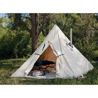 Cabela's Outfitter Range A-Frame Tent by Montana Canvas : Cabela's
