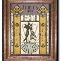 Tiana's Place - Princess and the Frog - Retro Style Poster - 11x14
