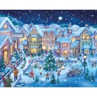 Holiday Village Christmas Jigsaw Puzzle - Puzzle Haven