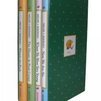Pooh's Library: Winnie-The-Pooh, the House at Pooh Corner, When We Were Very Young, Now We Are Six (Winnie-the-pooh)
