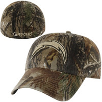 47 Brand San Diego Chargers Realtree Franchise Slouch Fitted Hat