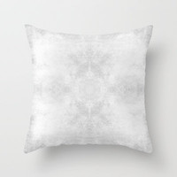 Gray Abstract Throw Pillow by Sweet Reveries (Andrea Hurley)