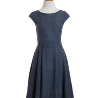 Devonshire Dress Blue