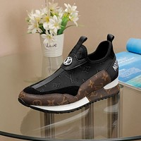 LV women's Men's 2021 New Fashion Casual Shoes Sneaker Sport Running Shoes
