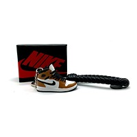 3D Sneaker Keychain- Air Jordan 1 High Rookie Of The Year