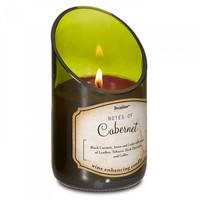 Wine Bottle Cabernet Scented Candle