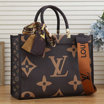 LV Louis Vuitton Newest Popular Women Leather Tote Crossbody Satchel Shoulder Bag Handbag