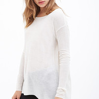 FOREVER 21 Lightweight Thermal Sweater
