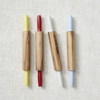 Dipped Wood Rolling Pin